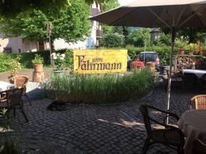 Außenbereich - Zum Fährmann - Gaienhofen
